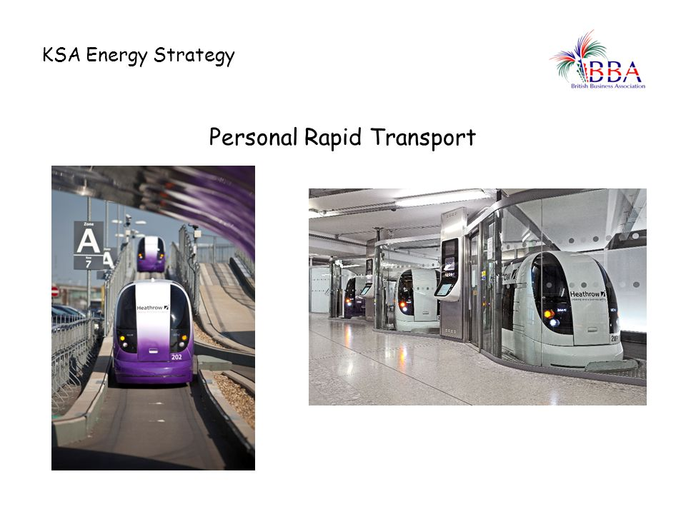 Personal Rapid Transport