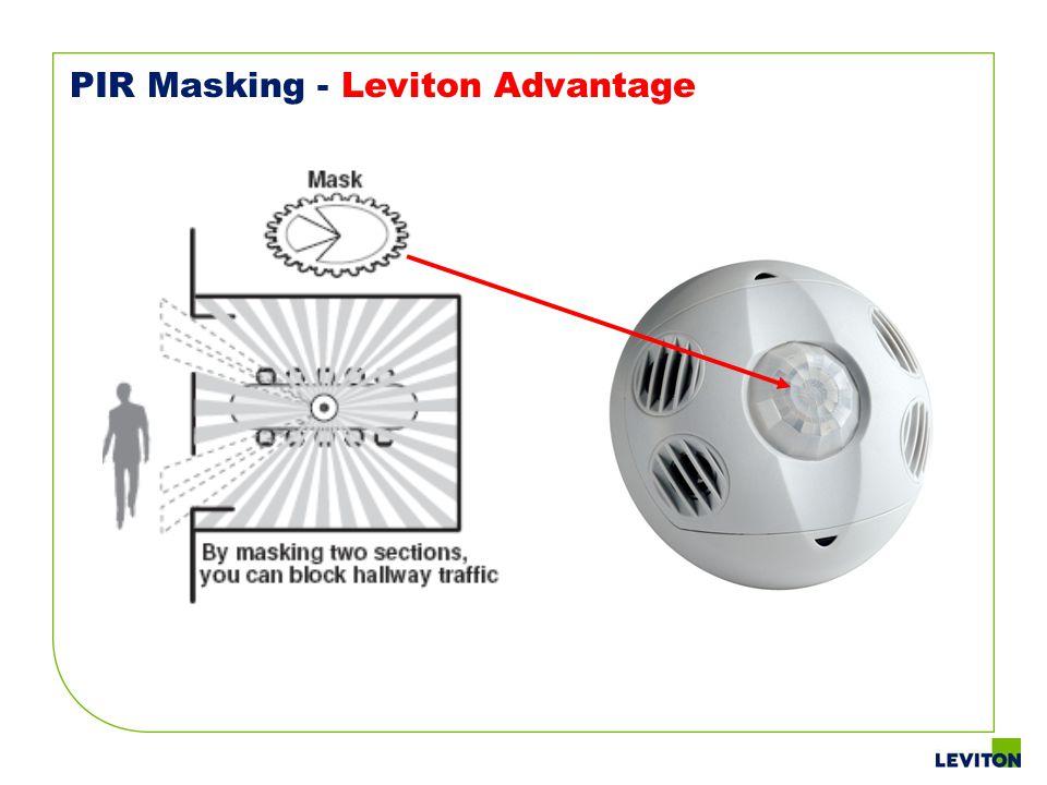 PIR Masking - Leviton Advantage