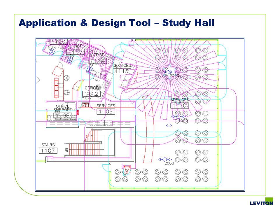 Application & Design Tool – Study Hall