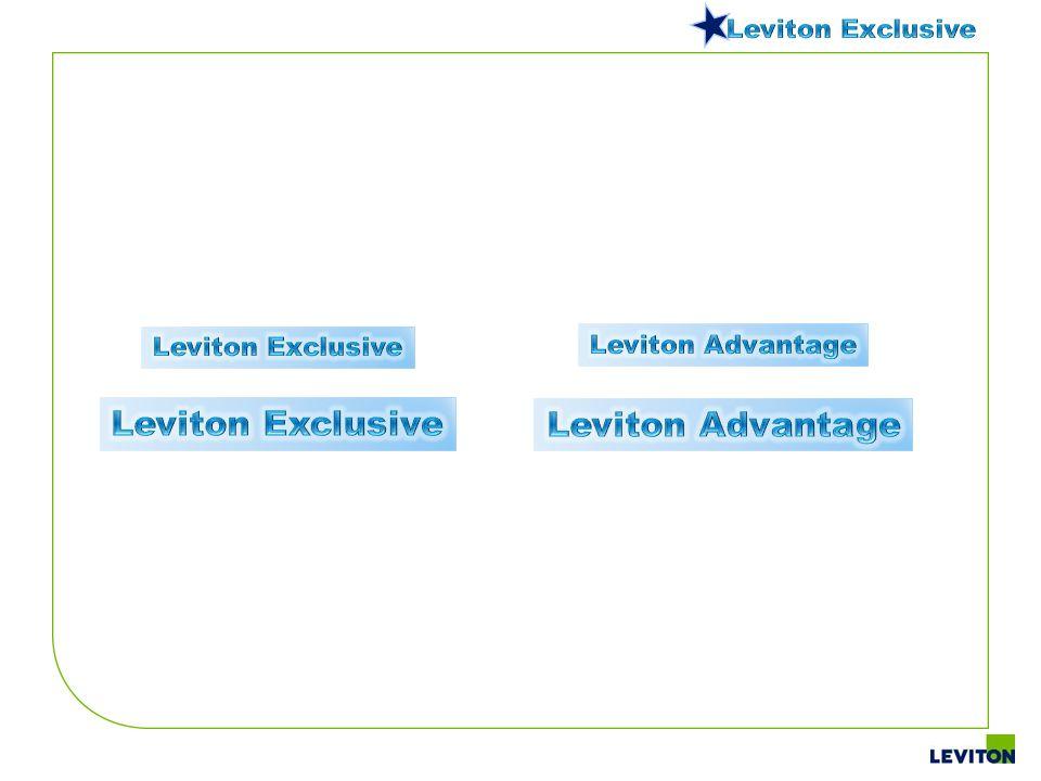 Leviton Exclusive Leviton Advantage