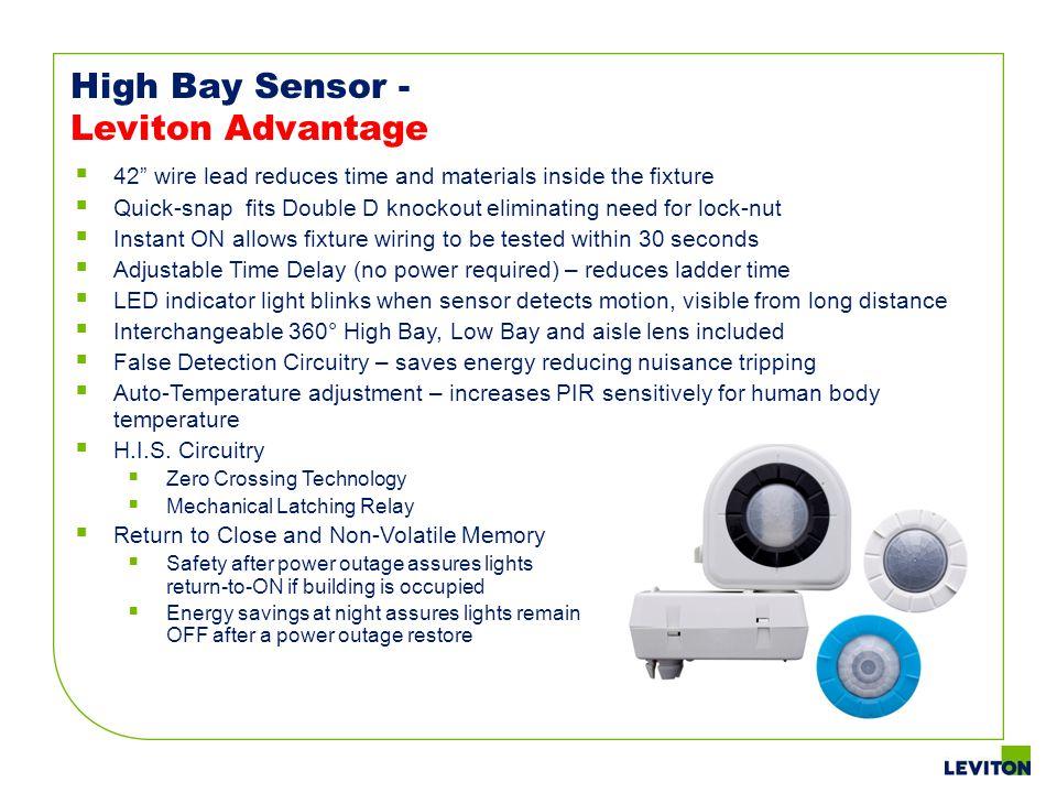 High Bay Sensor - Leviton Advantage