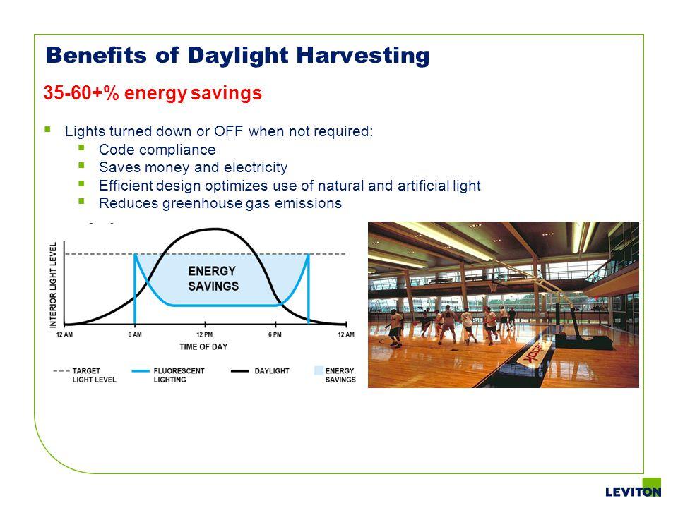 Benefits of Daylight Harvesting