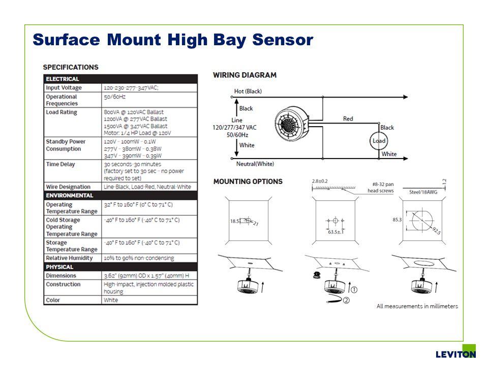 Surface Mount High Bay Sensor