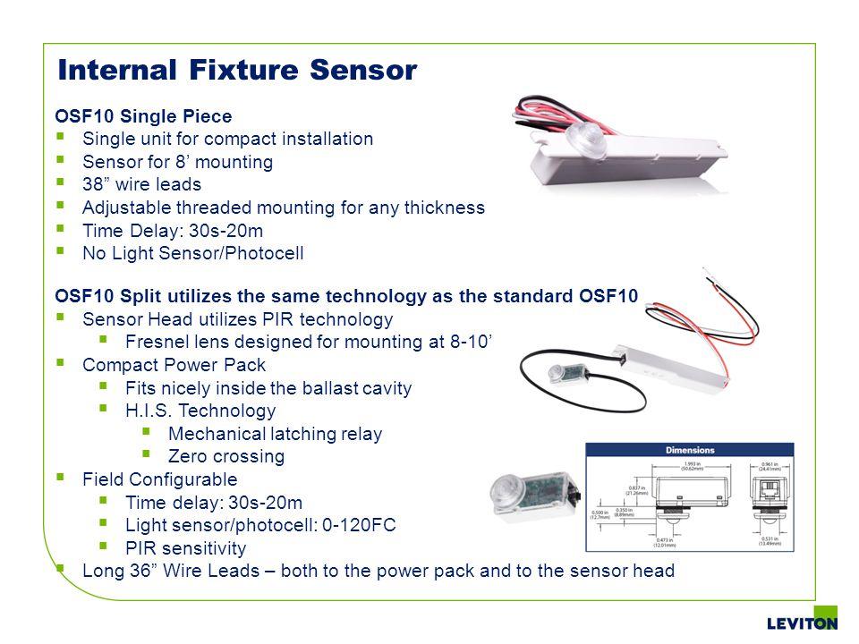 Internal Fixture Sensor