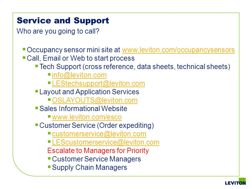 MULTI - TECH Service and Support Who are you going to call