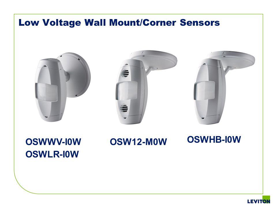 Low Voltage Wall Mount/Corner Sensors