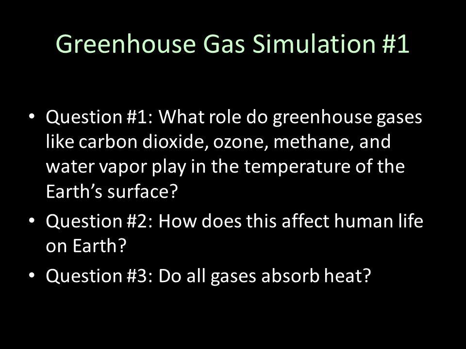 Greenhouse Gas Simulation #1
