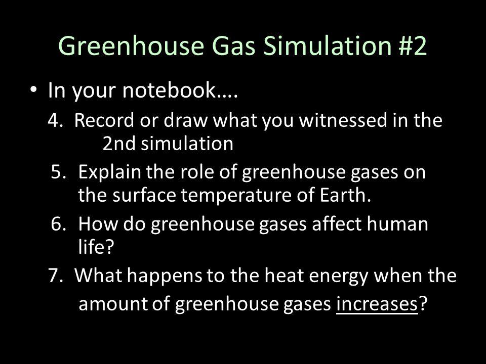Greenhouse Gas Simulation #2