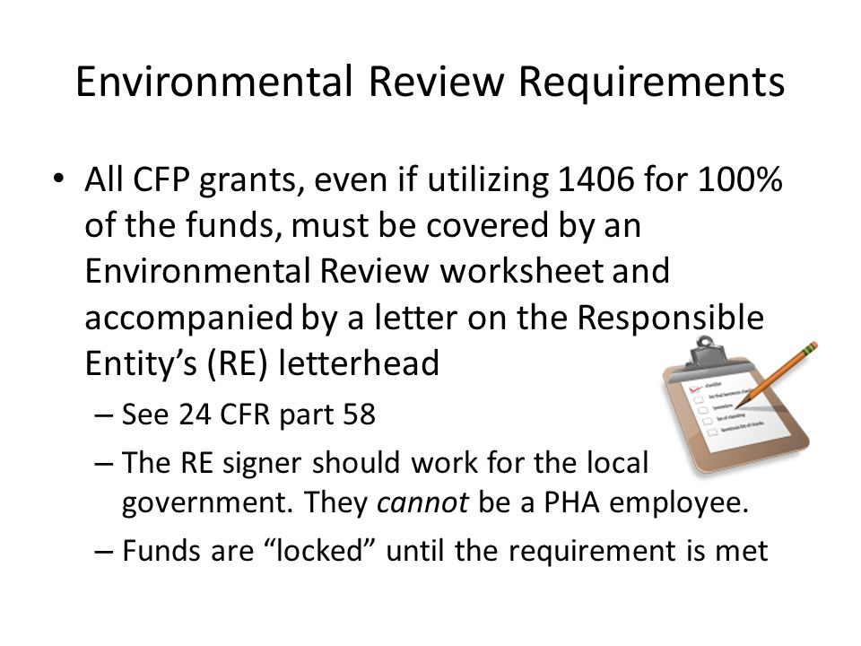 Environmental Review Requirements