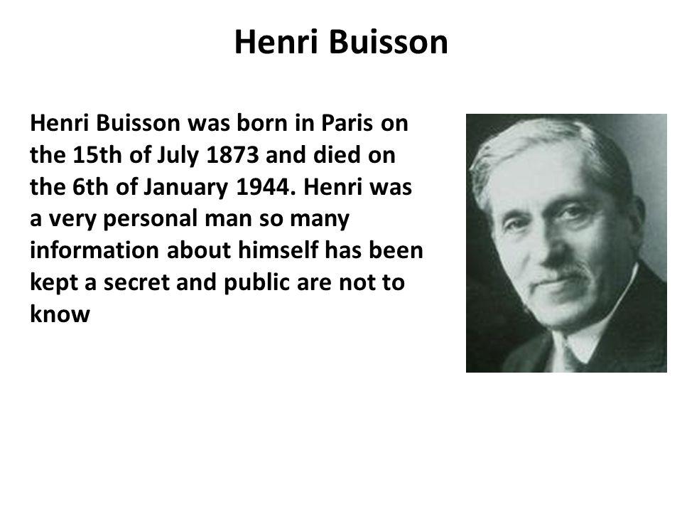 Henri Buisson