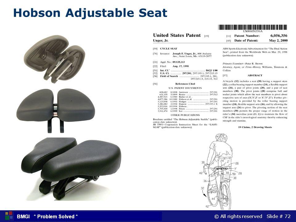 Hobson Adjustable Seat