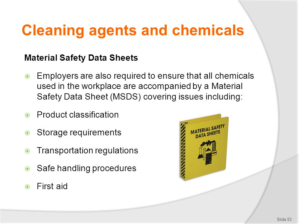 Abc chemical ensure safe workplace