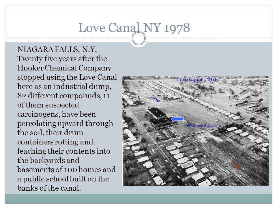 Love Canal NY 1978