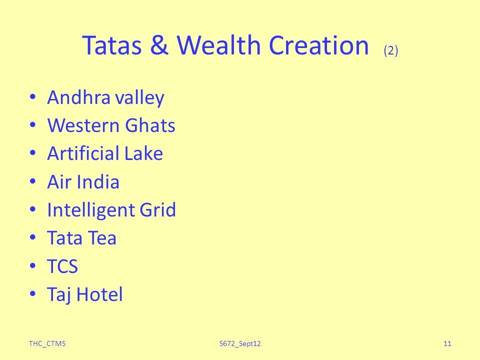 Tatas & Wealth Creation (2)