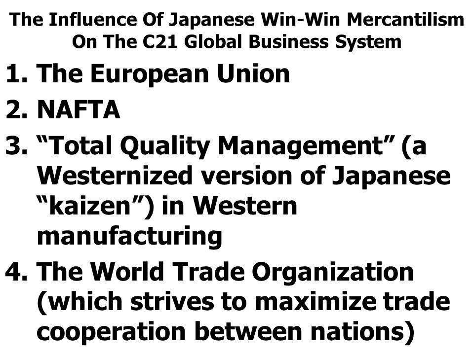 The European Union NAFTA