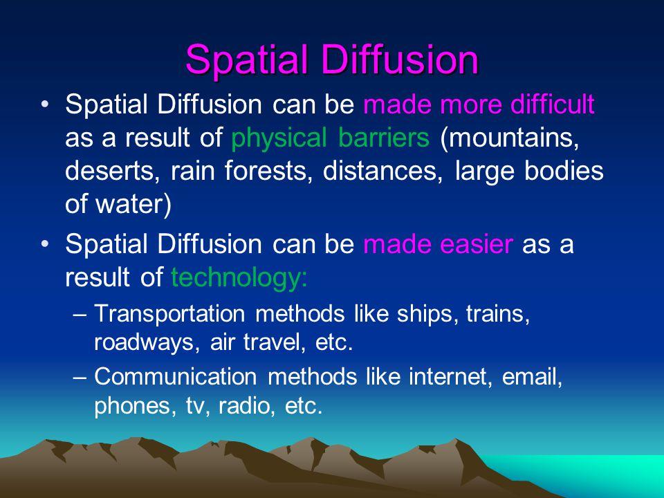 Spatial Diffusion