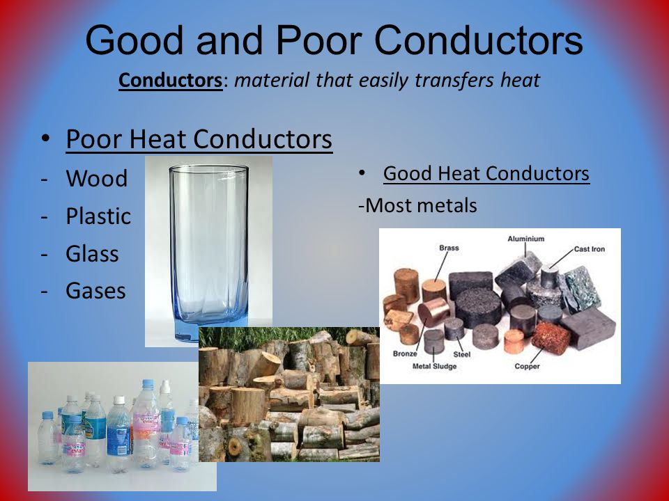 What Are Some Conductors : Chapter thermal energy ppt video online download