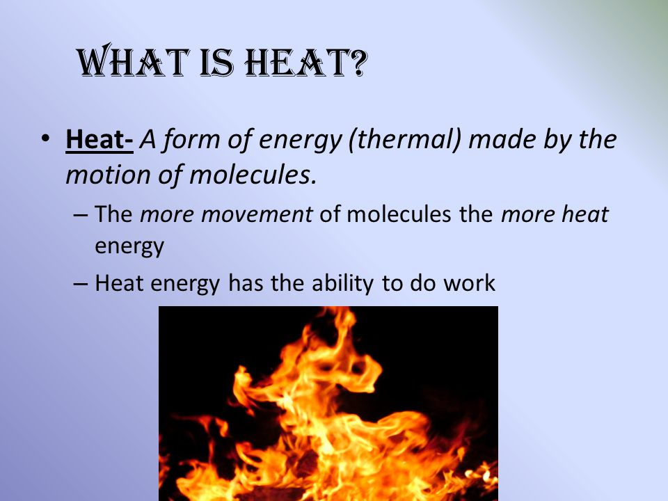 Chapter 9 Thermal Energy - ppt video online download