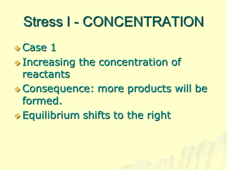 Stress I - CONCENTRATION