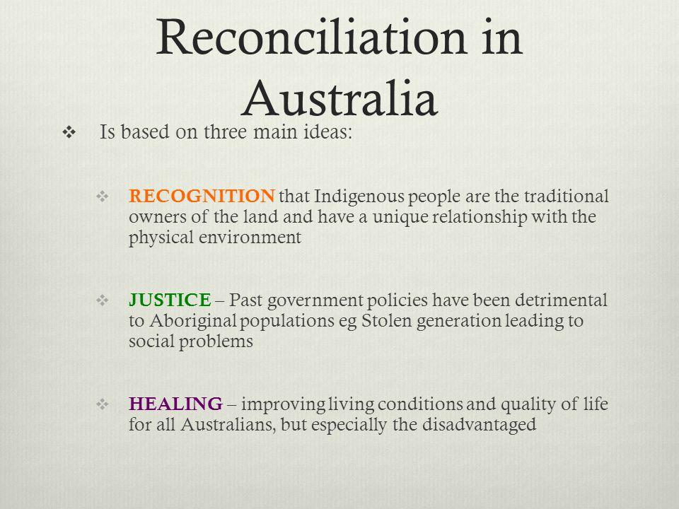 Reconciliation in Australia