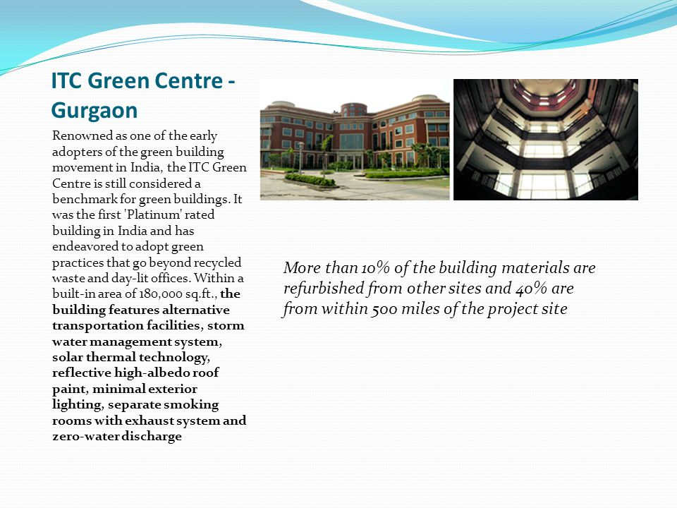 ITC Green Centre - Gurgaon