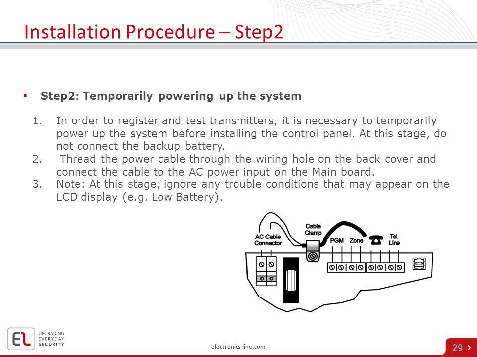 Installation Procedure – Step2