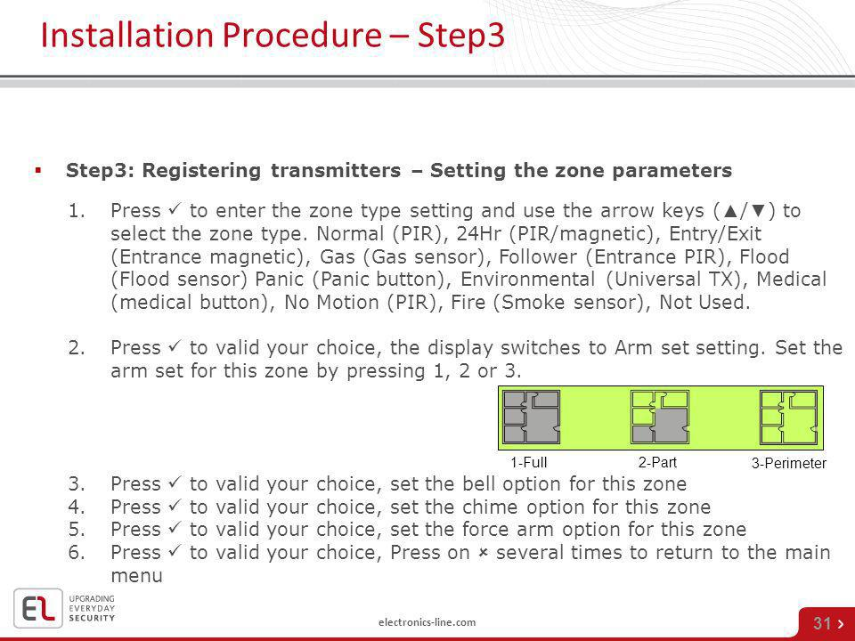 Installation Procedure – Step3
