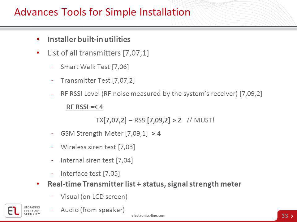 Advances Tools for Simple Installation