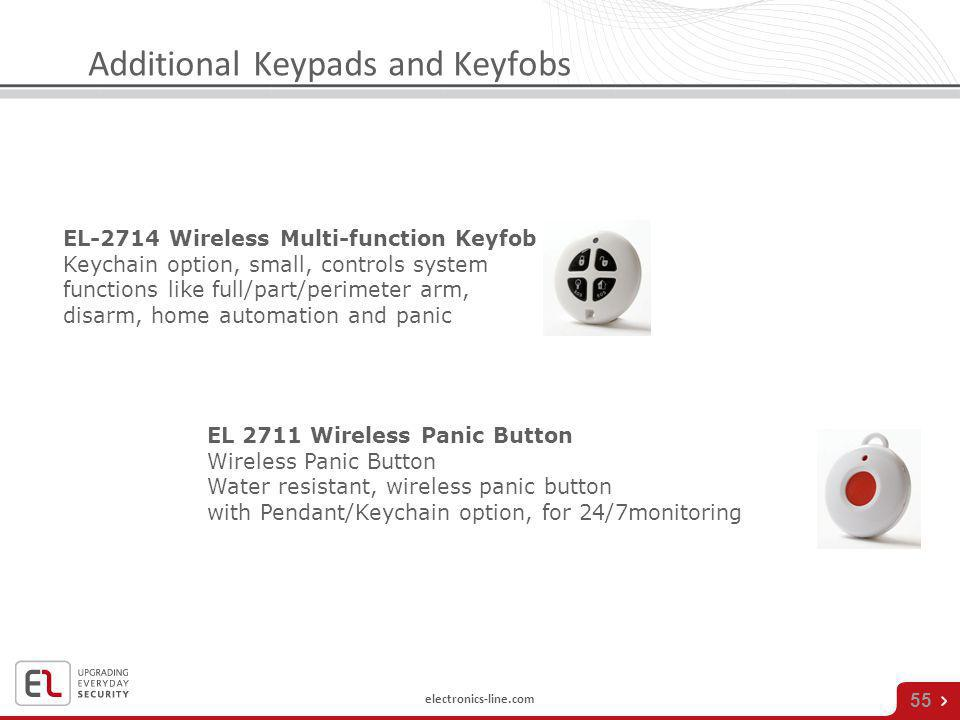 Additional Keypads and Keyfobs