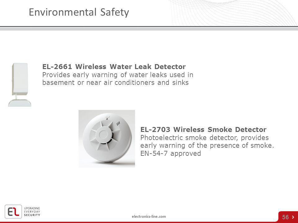 Environmental Safety EL-2661 Wireless Water Leak Detector