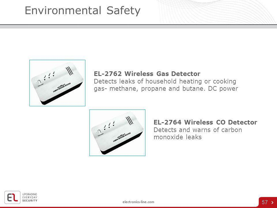 Environmental Safety EL-2762 Wireless Gas Detector