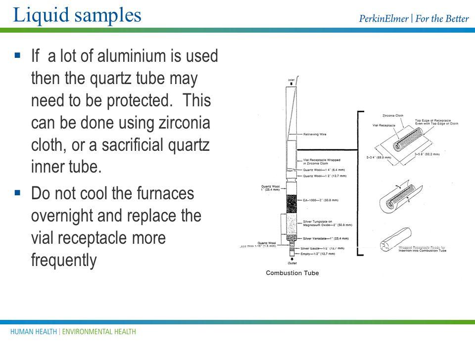 Liquid samples