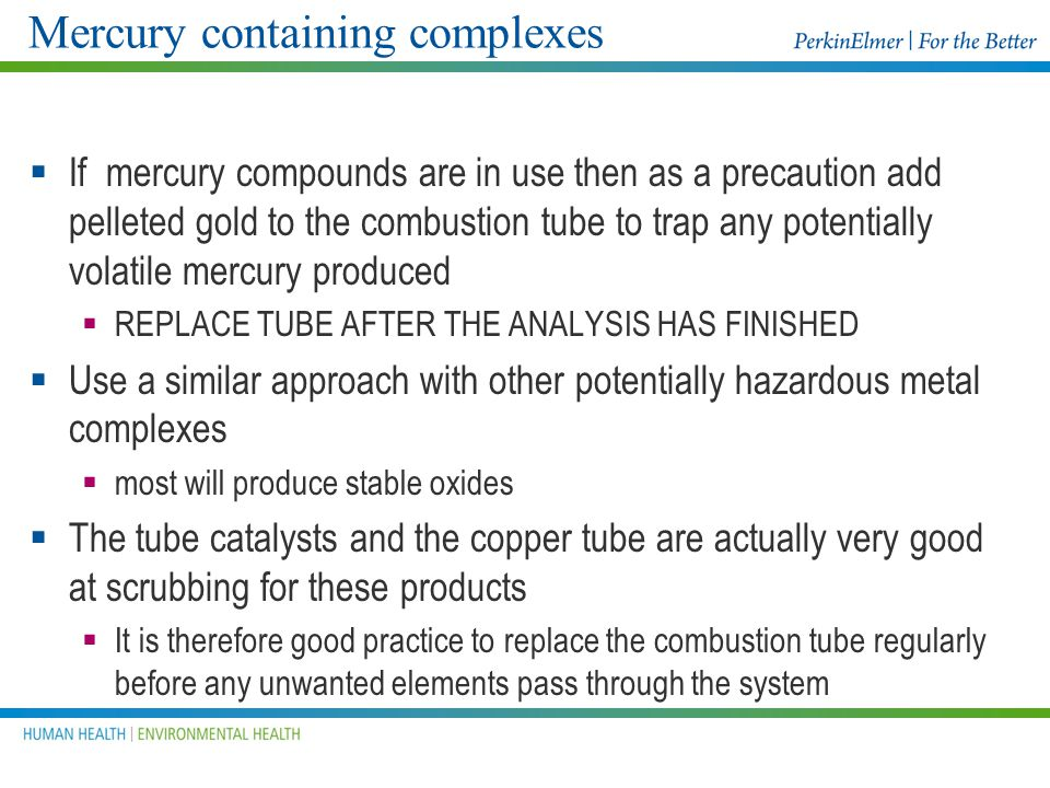 Mercury containing complexes