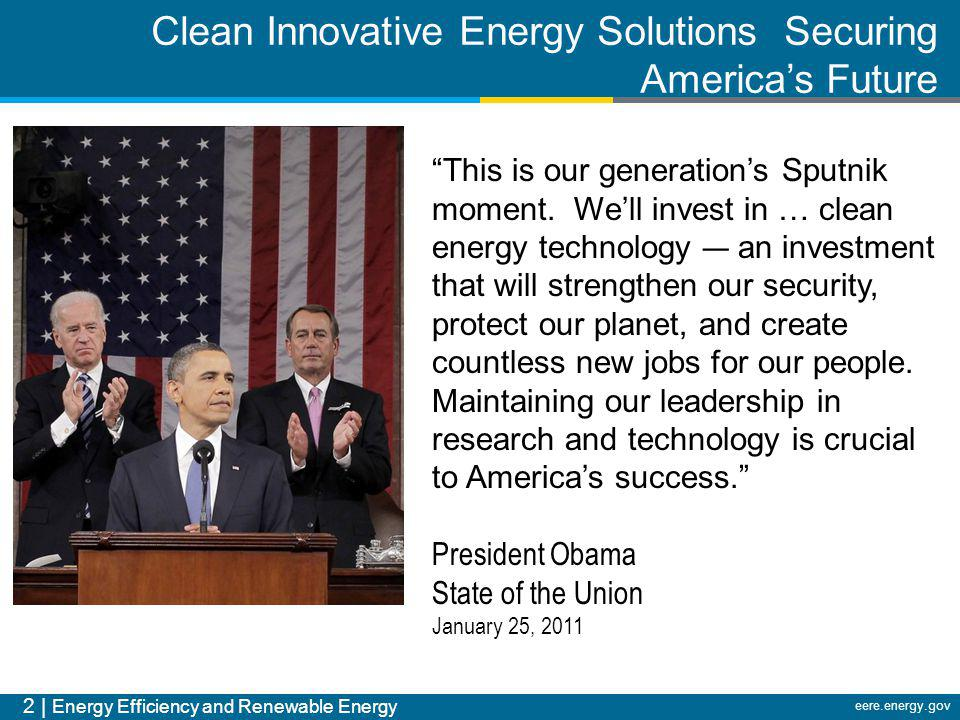 Clean Innovative Energy Solutions Securing America's Future