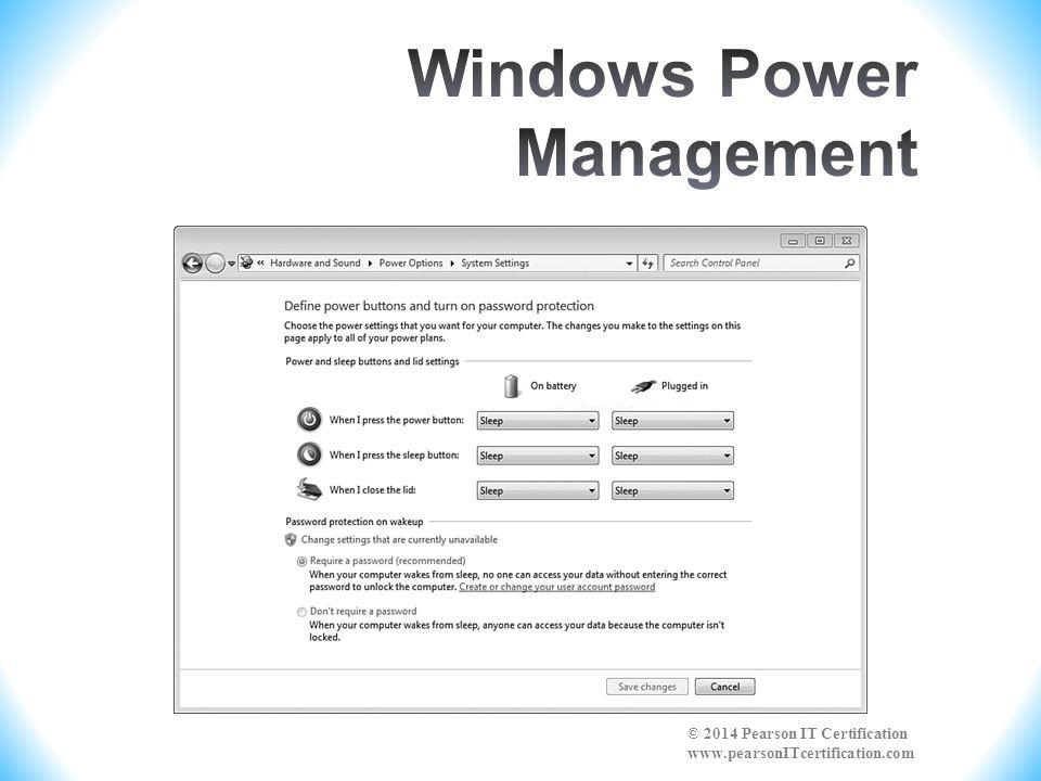 Windows Power Management