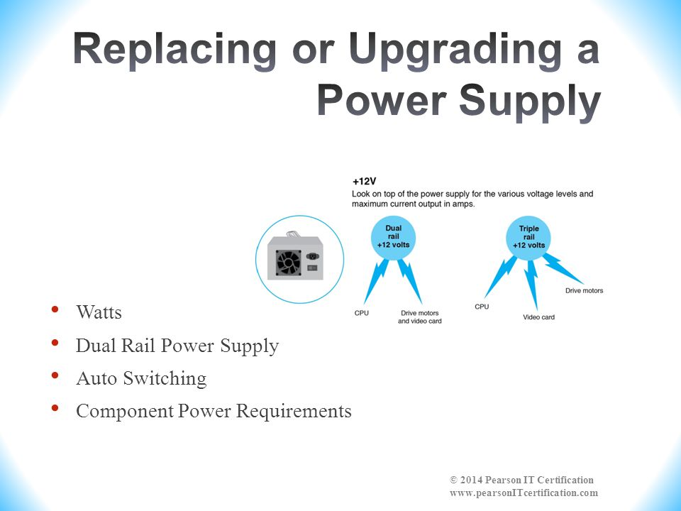 Replacing or Upgrading a Power Supply
