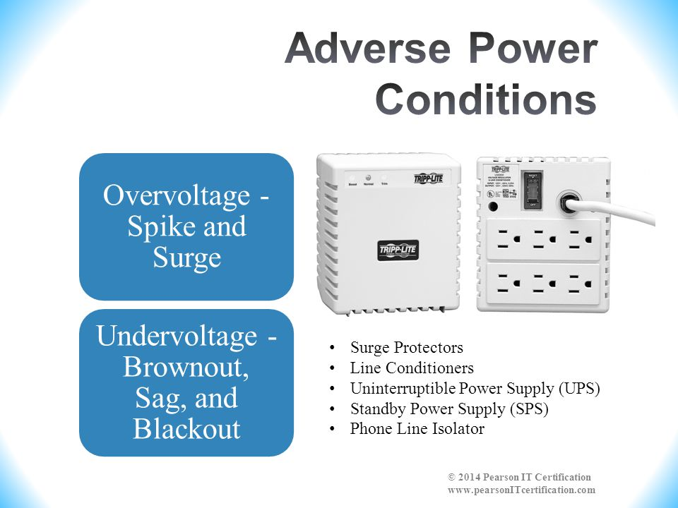Adverse Power Conditions