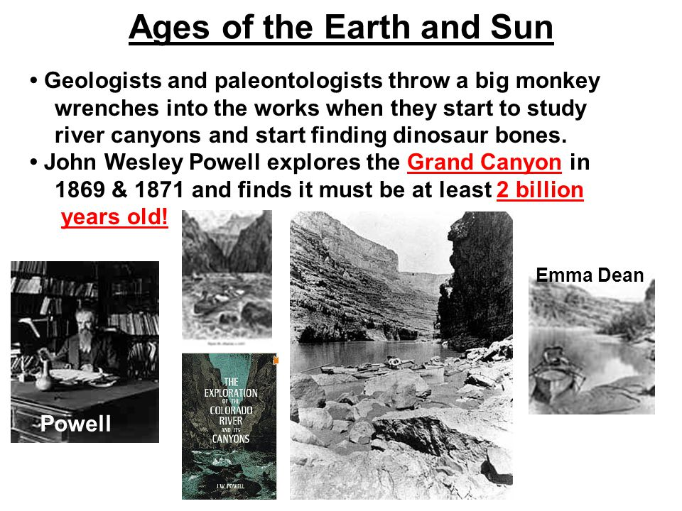 Ages of the Earth and Sun