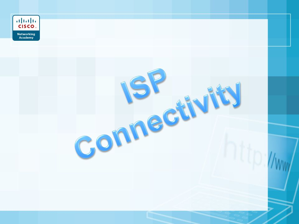 ISP Connectivity