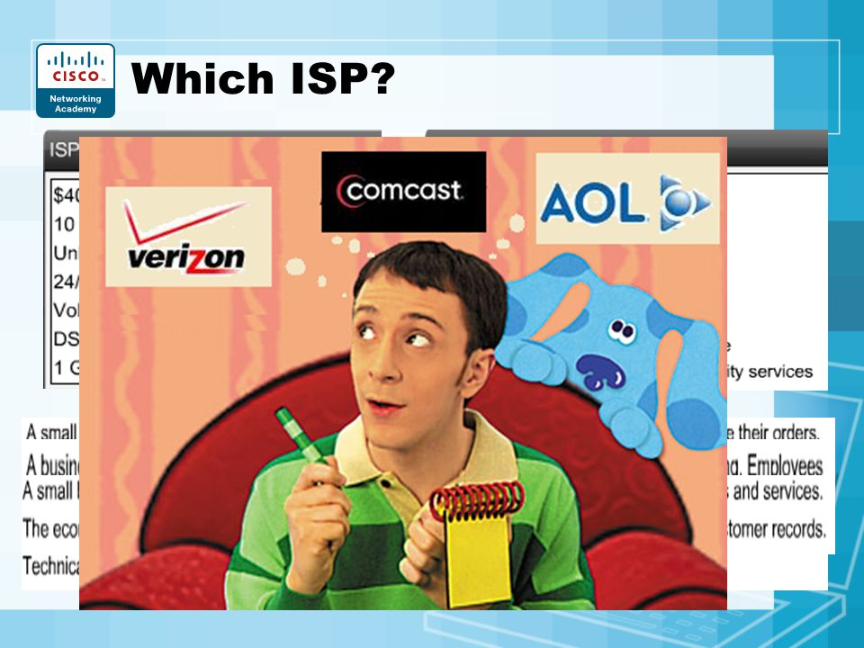 Which ISP