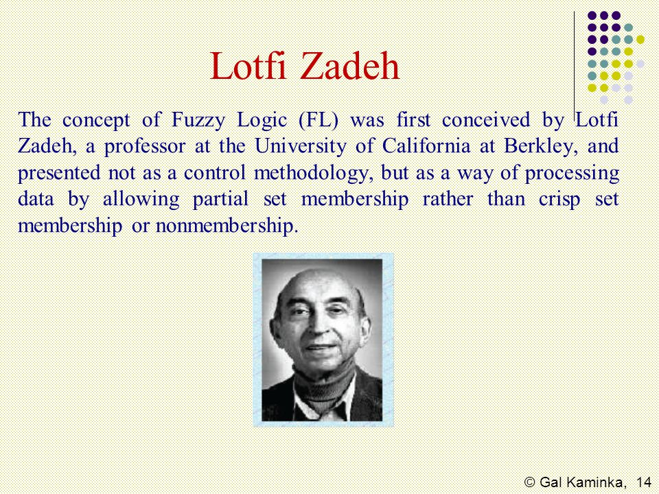 Lotfi Zadeh