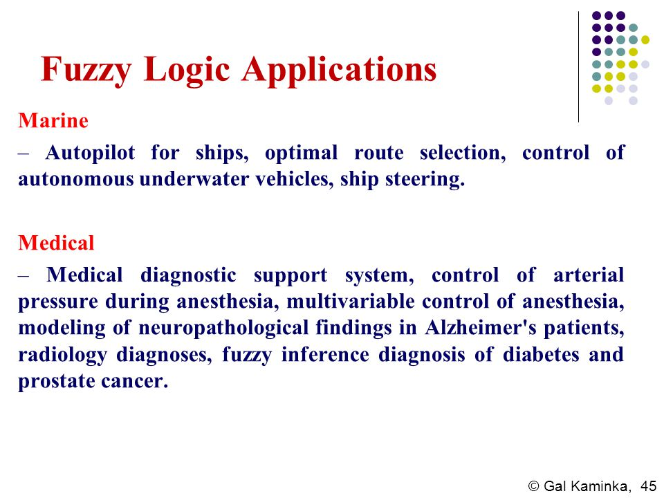 Fuzzy Logic Applications