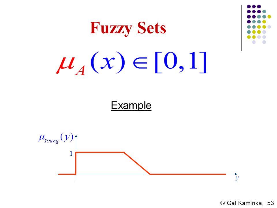 Fuzzy Sets Example 1 y