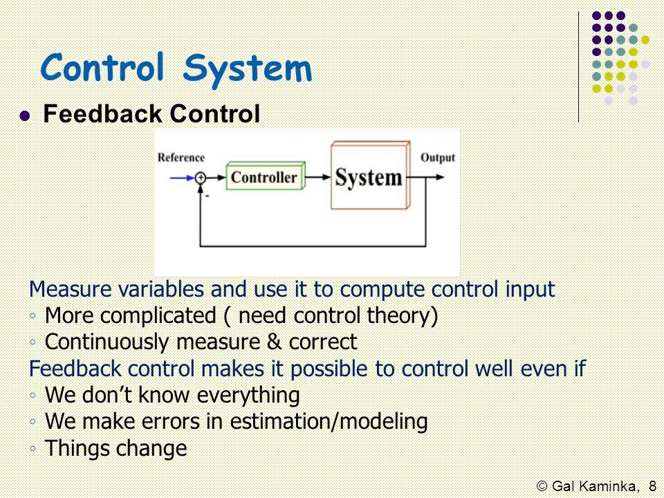 Control System Feedback Control