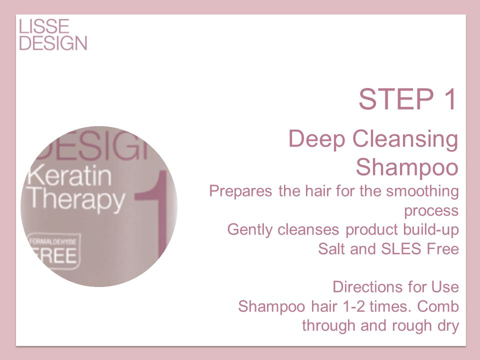 STEP 1 Deep Cleansing Shampoo