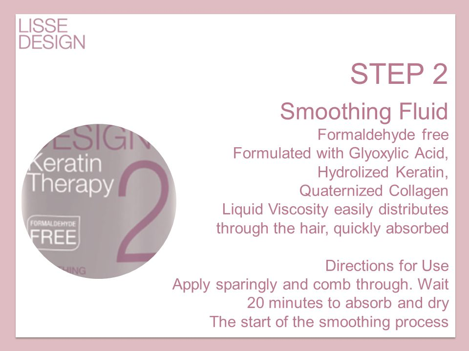 STEP 2 Smoothing Fluid Formaldehyde free
