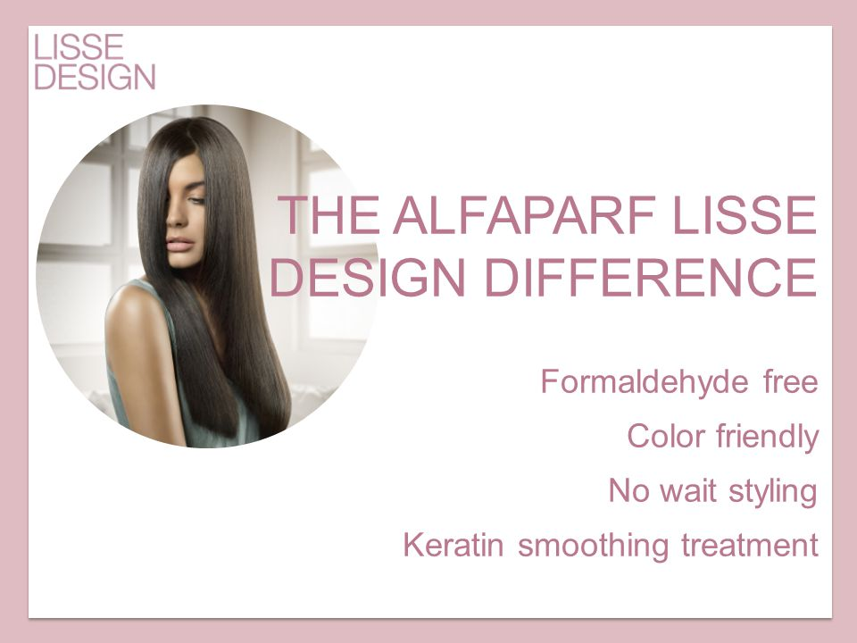 THE ALFAPARF LISSE DESIGN DIFFERENCE