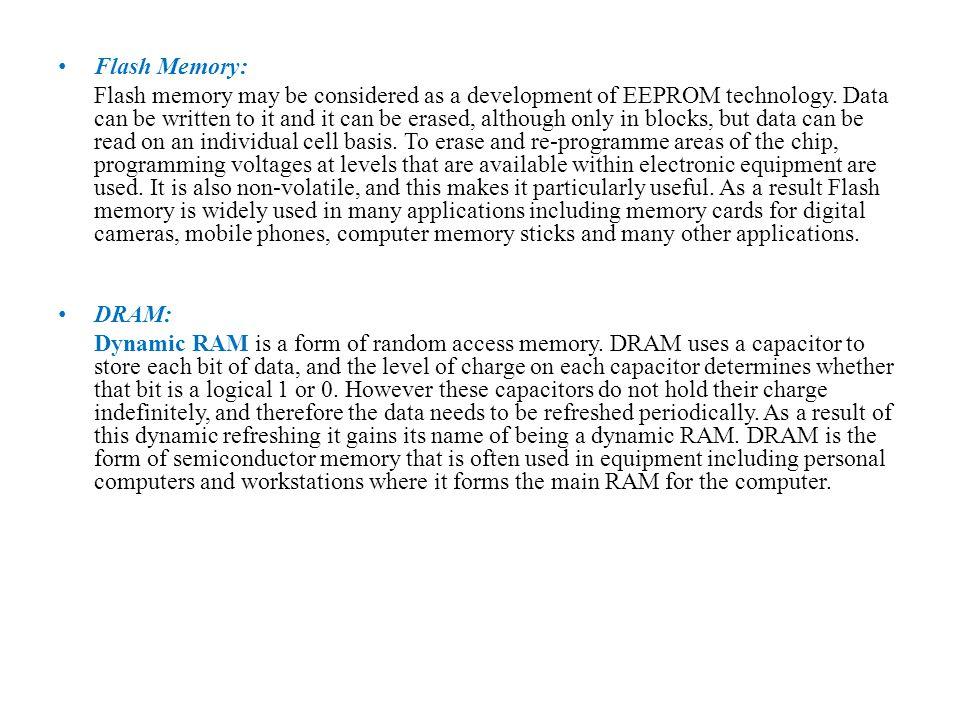 Flash Memory: