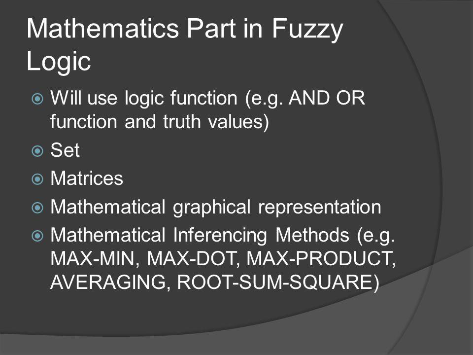 Mathematics Part in Fuzzy Logic