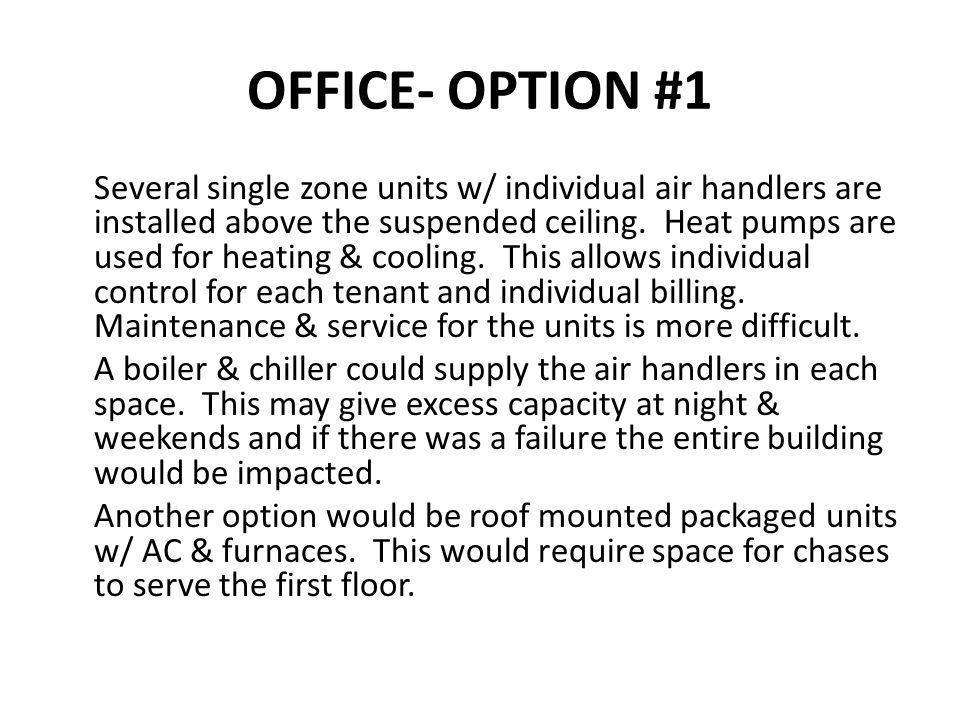 OFFICE- OPTION #1